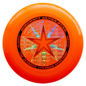 frisbee-utimate-discraft-orange